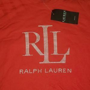 Ralph Lauren PLUS Studded T-Shirt